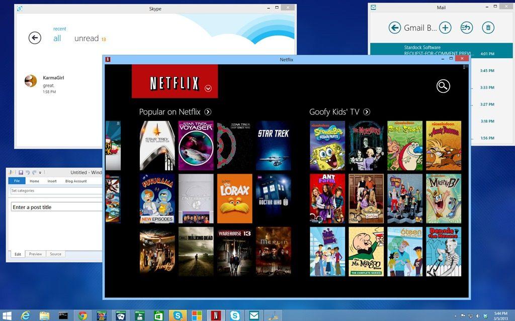 ModernMix roda aplicativos do Windows 8 em janelas