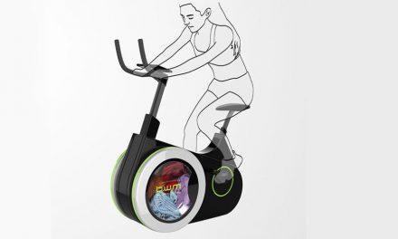 Projeto conceitual une bicicleta ergométrica e máquina de lavar roupas