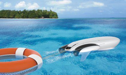 Empresa anuncia drone aquático que pesca e faz salvamentos. Veja vídeo!