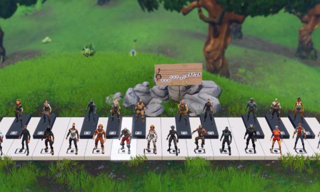 Vídeo: jogadores de Fortnite tocam 'Despacito' em piano gigante